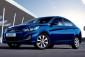 Hyundai Accent 2015 exterior blue